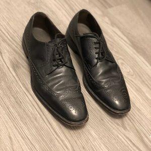 Tods Black Dress Shoe Size 8.5 Men's